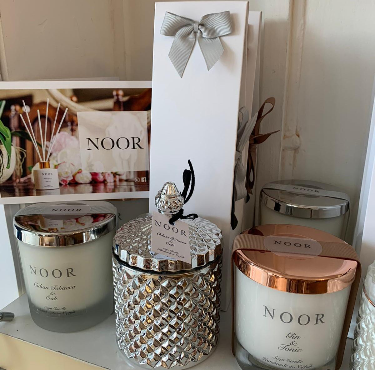 The Noor Company Candles at Jupe Mundesley