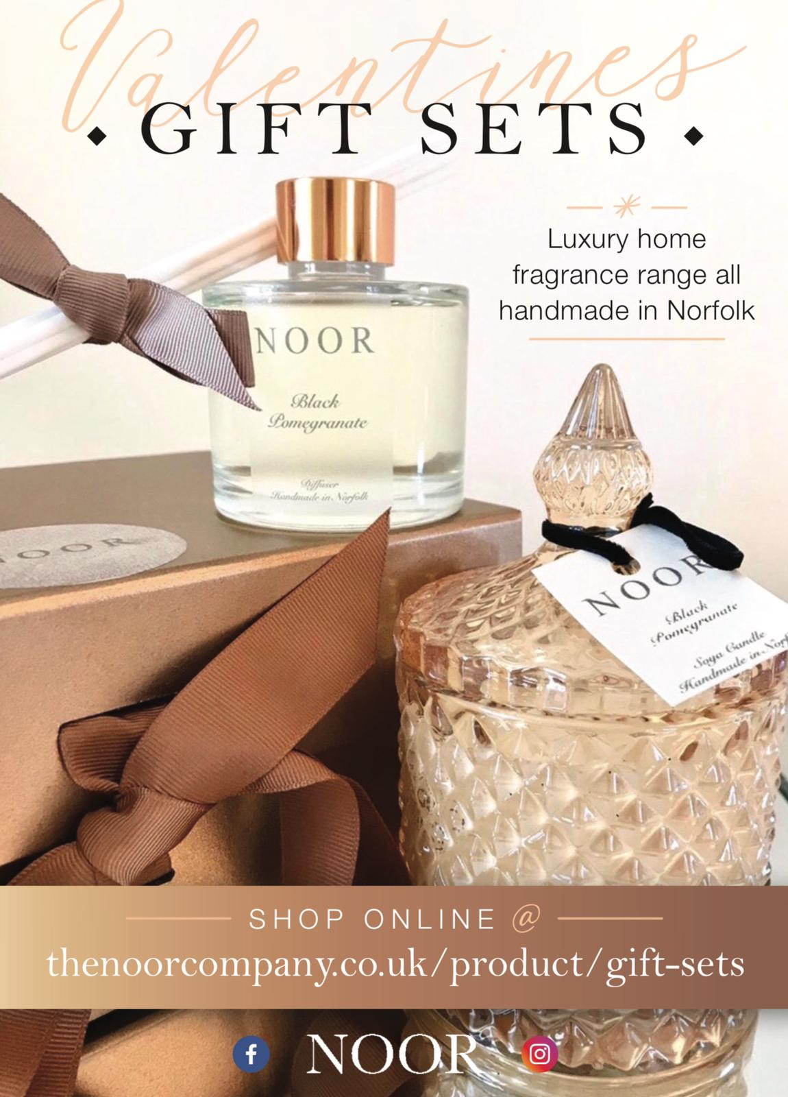 Luxury Scented Candles in Vogue from the Noor company