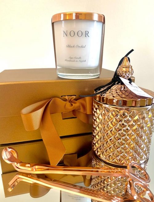 Luxury Candle Geo in Copper Gift Box
